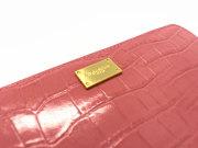 Fascino(ファッシノ) ラウンドファスナー長財布「ル・プレリー」  NPL3114 プレート