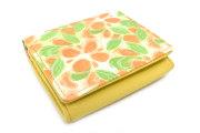 プリムラ 二つ折り財布(BOX小銭入れあり) 「ル・プレリーギンザ」 NPL4412 オレンジ 正面