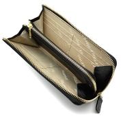 オックスフォード 長財布(L字ファスナー) 「ゴールドファイル」 GP11828 ブラック 内作り
