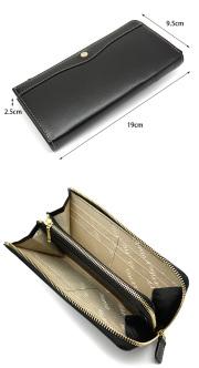 オックスフォード 長財布(L字ファスナー) 「ゴールドファイル」 GP11828 サイズ