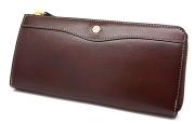 オックスフォード 長財布(L字ファスナー) 「ゴールドファイル」 GP11828 バーガンディ 正面