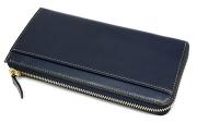 オックスフォード 長財布(L字ファスナー) 「ゴールドファイル」 GP11828 ネイビー 裏面