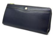 オックスフォード 長財布(L字ファスナー) 「ゴールドファイル」 GP11828 ネイビー 正面
