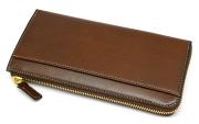 オックスフォード 長財布(L字ファスナー) 「ゴールドファイル」 GP11828 スコッチ 裏面