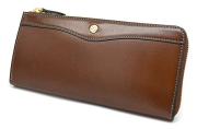 オックスフォード 長財布(L字ファスナー) 「ゴールドファイル」 GP11828 スコッチ 正面