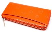 ユリシス L字ファスナー長財布 「ル・プレリー」 np22111 オレンジ 裏面