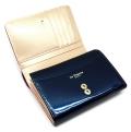 ユリシス 二つ折り財布 「ル・プレリー」 NP22213 ネイビー 内作り1