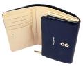 ユリシス 二つ折り財布 「ル・プレリー」 NP22213 ネイビー 内作り2
