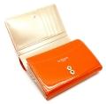 ユリシス 二つ折り財布 「ル・プレリー」 NP22213 オレンジ 内作り1