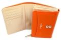 ユリシス 二つ折り財布 「ル・プレリー」 NP22213 オレンジ 内作り2