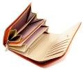 ユリシス 二つ折り財布 「ル・プレリー」 NP22213 オレンジ 内作り3