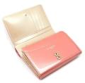 ユリシス 二つ折り財布 「ル・プレリー」 NP22213 ピンク 内作り1