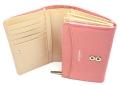 ユリシス 二つ折り財布 「ル・プレリー」 NP22213 ピンク 内作り2