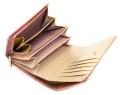 ユリシス 二つ折り財布 「ル・プレリー」 NP22213 ピンク 内作り3