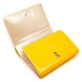 ユリシス 二つ折り財布 「ル・プレリー」 NP22213 イエロー 内作り1