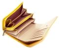 ユリシス 二つ折り財布 「ル・プレリー」 NP22213 イエロー 内作り3
