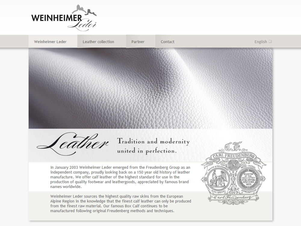 ワインハイム WEBサイト